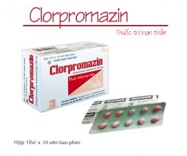 Thông báo mặt hàng CLORPROMAZIN kể từ lô 0040718 sẽ thay đổi mẫu toa theo TT01/2018 (mẫu đính kèm)
