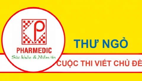 """THƯ NGỎ CUỘC THI VIẾT CHỦ ĐỀ """"PHARMEDIC: SỨC  KHỎE & NIỀM TIN TUỔI 40"""""""