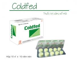 COLDFED (H/10 vỉ /10 viên) kể từ lô 0200619 sẽ thay đổi mẫu toa mới (mẫu đính kèm)