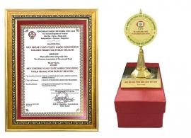 Giải Thưởng Sản Phẩm Vàng Vì Sức Khoẻ Cộng Đồng Sản Phẩm Nhau Thai Cừu ASSIE GOLDEN CARE - SHEEP PLACENTA 50000MG CAPSULE