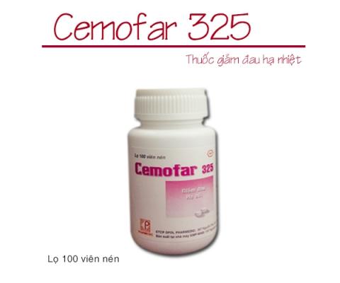 CEMOFAR 325 (lọ 100 viên) kể từ lô 0010719 sẽ thay đổi mẫu toa TT01/18(mẫu đính kèm)