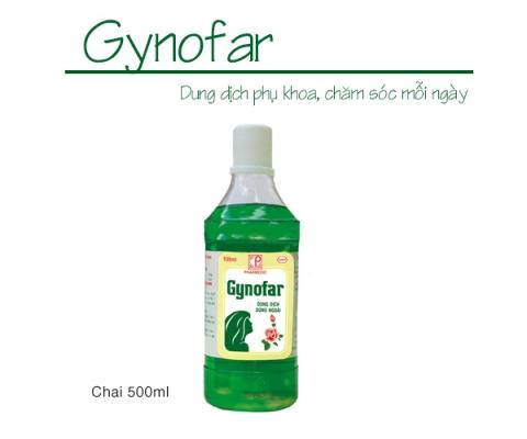 GYNOFAR (Chai 500ml) kể từ lô 03150819 sẽ thay đổi mẫu nhãn decal (hình ảnh đính kèm)
