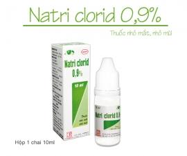 Thông báo mặt hàng: NATRI CLORID 0,9% (nhỏ mắt, mũi) kể từ lô 3590421 sẽ thay đổi mẫu toa. Đơn giá bán buôn không thay đổi