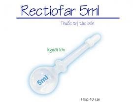 Thông báo kể từ ngày 17/5/2021 sẽ điều chỉnh giá mặt hàng Rectiofar 3 ml và Rectiofar 5 ml