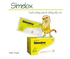 SIMELOX kể từ lô 0040220 sẽ thay đổi mẫu toa theo TT01/2018