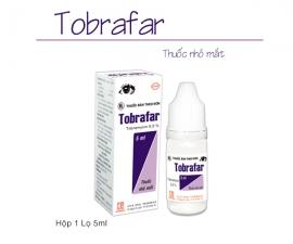 Công ty xin thông báo tiếp tục sản xuất và phân phối mặt hàng: TOBRAFAR (chai 5ml)