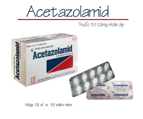 Thông báo kể từ ngày 07/09/2020 sẽ điều chỉnh giá mặt hàng ACETAZOLAMID