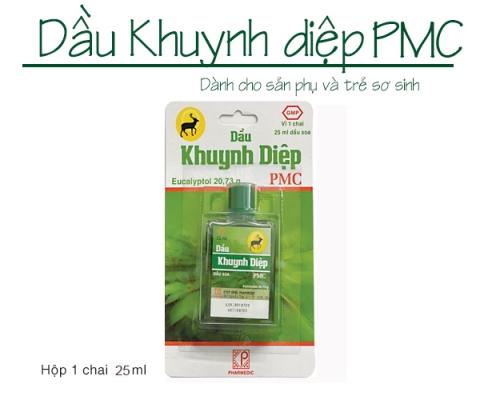 Thông báo mặt hàng mới: DẦU KHUYNH DIỆP PMC