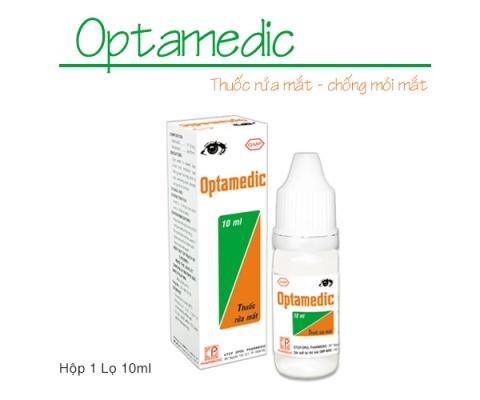 OPTAMEDIC kể từ lô 0020919 sẽ thay đổi mẫu mã bao bì (mẫu đính kèm)