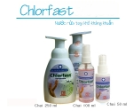 Chlorfast Nước rửa tay khô kháng khuẩn